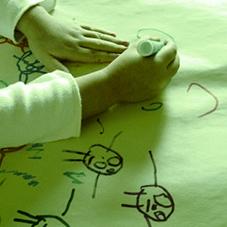 tekenen en coaching voor volwassen, kinderen en motoriekondersteuning